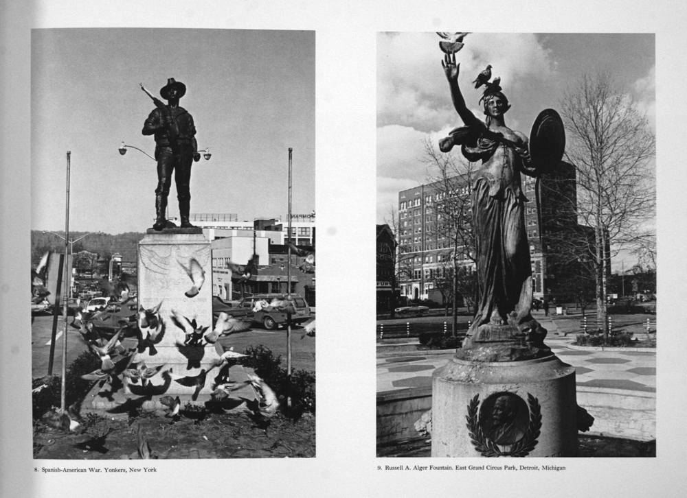 "One from the aforementioned ""Monuments.""  Lee Friedlander."