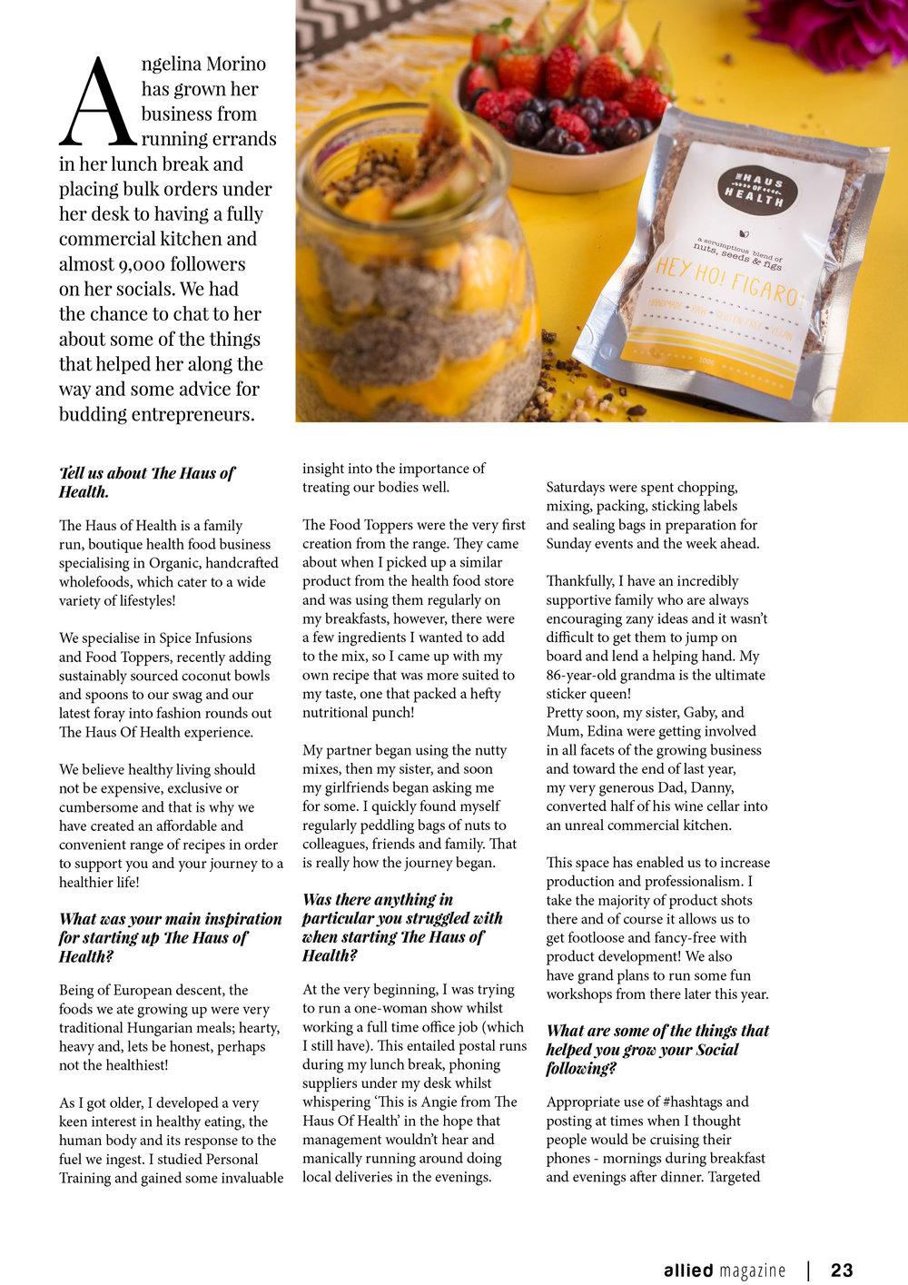Haus of Health - Allied Magazine Article-2.jpg