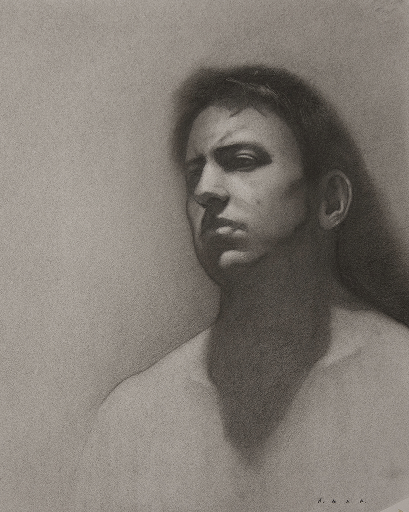 """in shadow""  charcoal"