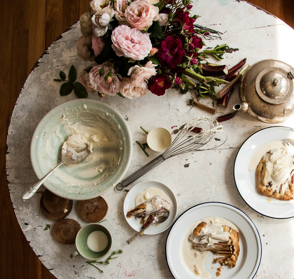 on having your (rhubarb and rose geranium) cake and eating it too \u2014 the dailys & on having your (rhubarb and rose geranium) cake and eating it too ...