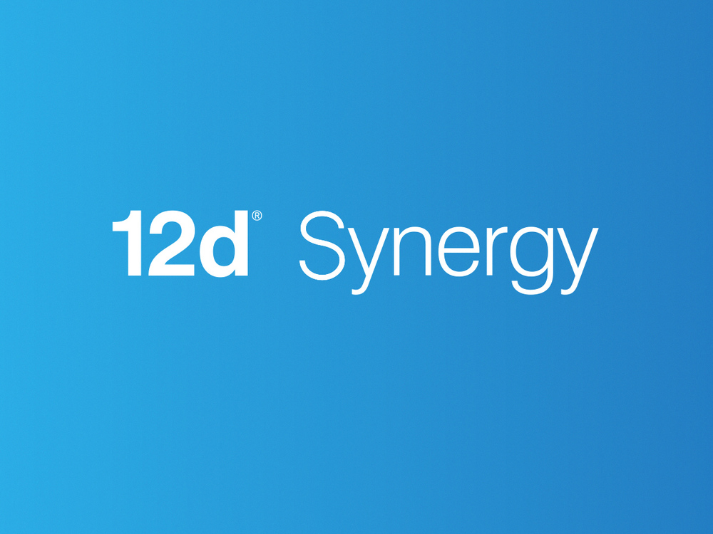 12d Synergy logo design