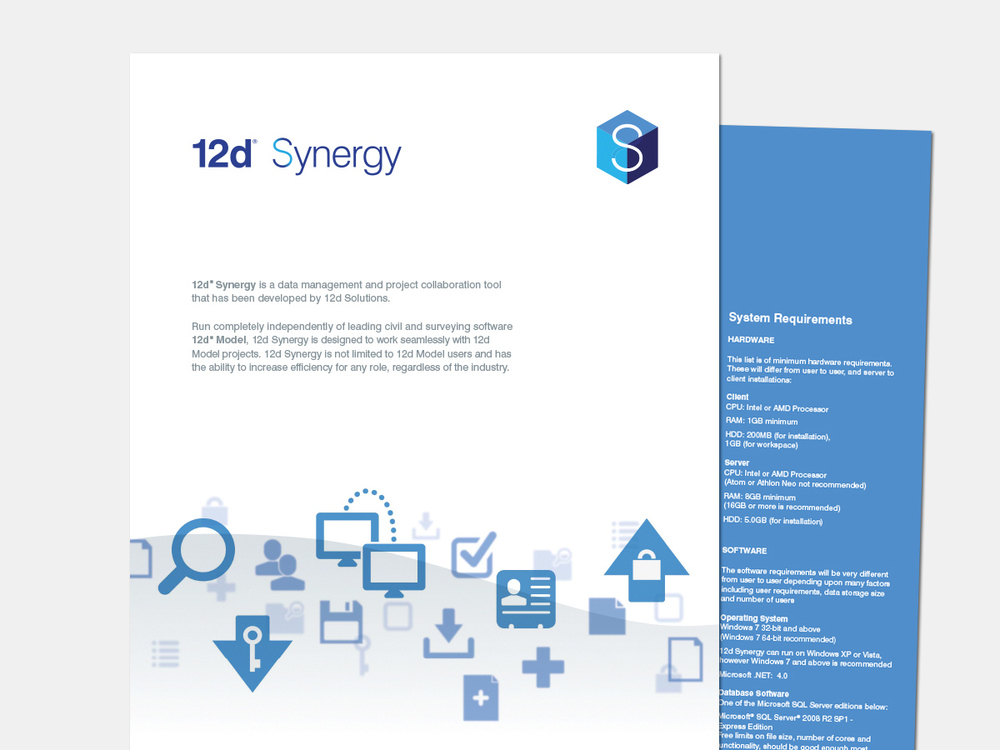 Topline brochure and collateral developed for Synergy