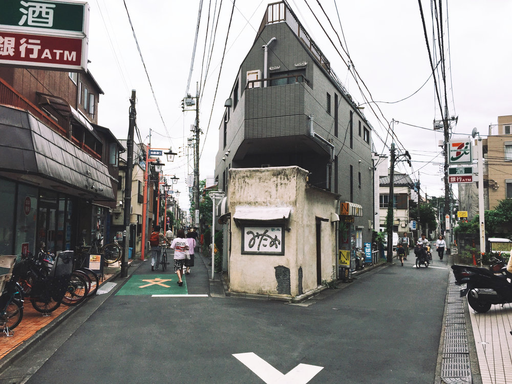 The area of Nakano was home for one week in May.