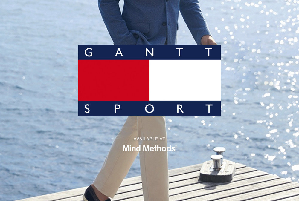A fun parody inspired by the American clothing label GANT.