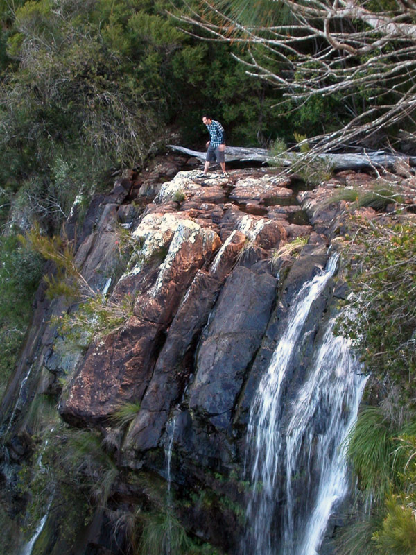 Adventure is out there!   Minyon Falls, NSW (2010)