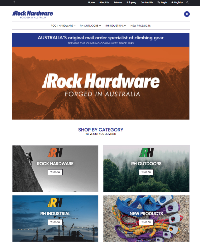 Rock Hardware Online Store