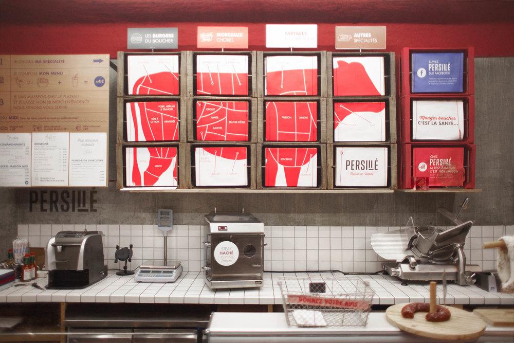 Reportage du boucher-restaurant Persillé, Paris XIII