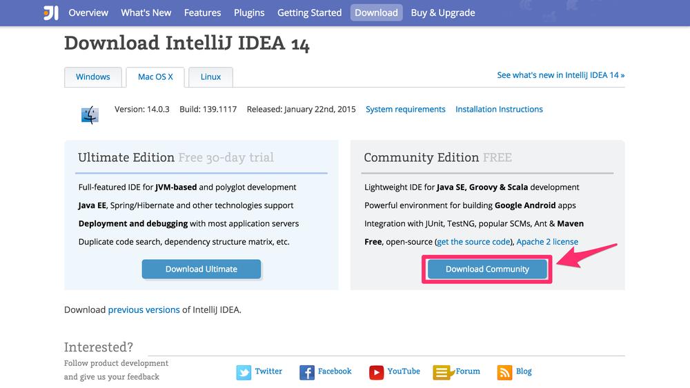 IntellijIDEAダウンロード画面.png