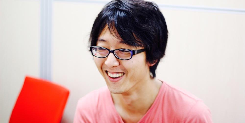 ヌーラボ吉澤さん。非常に気さくで人と話すことが大好きな方。
