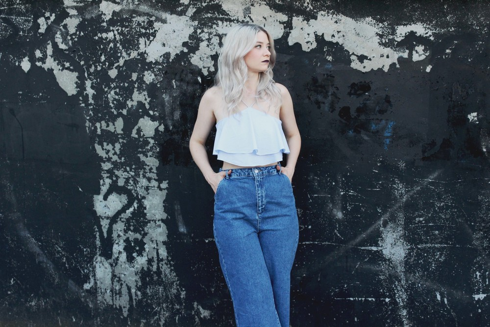 NORTHERN MAGPIE DENIM CULOTTES & CROP TOPS 1