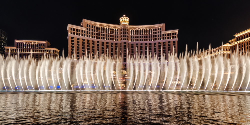 The wings of the Bellagio