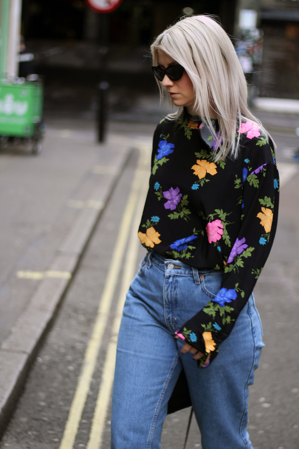 Topshop boutique silk blouse, blogging with a full time job, northern magpie, joey taylor 2