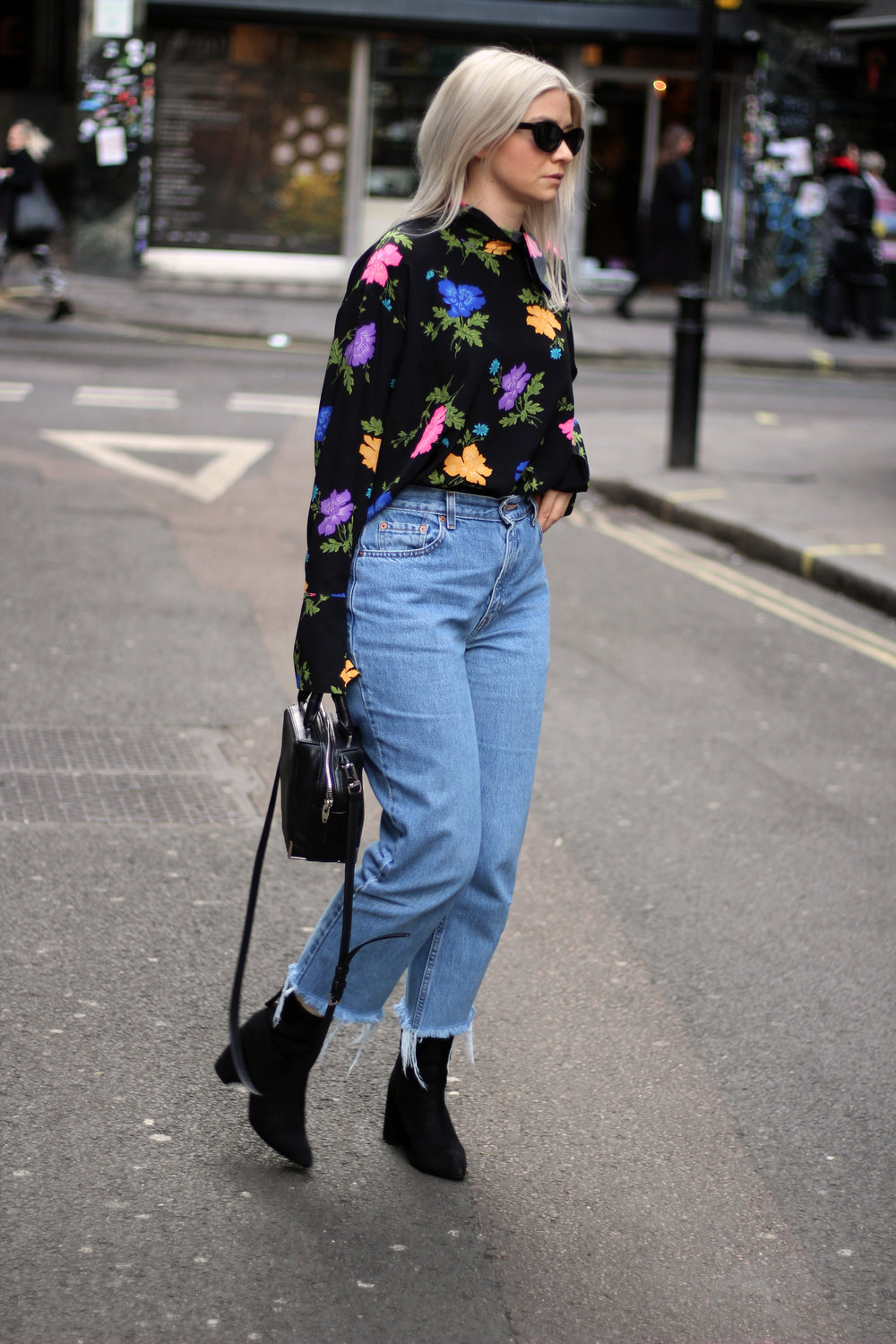 Topshop boutique silk blouse, blogging with a full time job, northern magpie, joey taylor 3