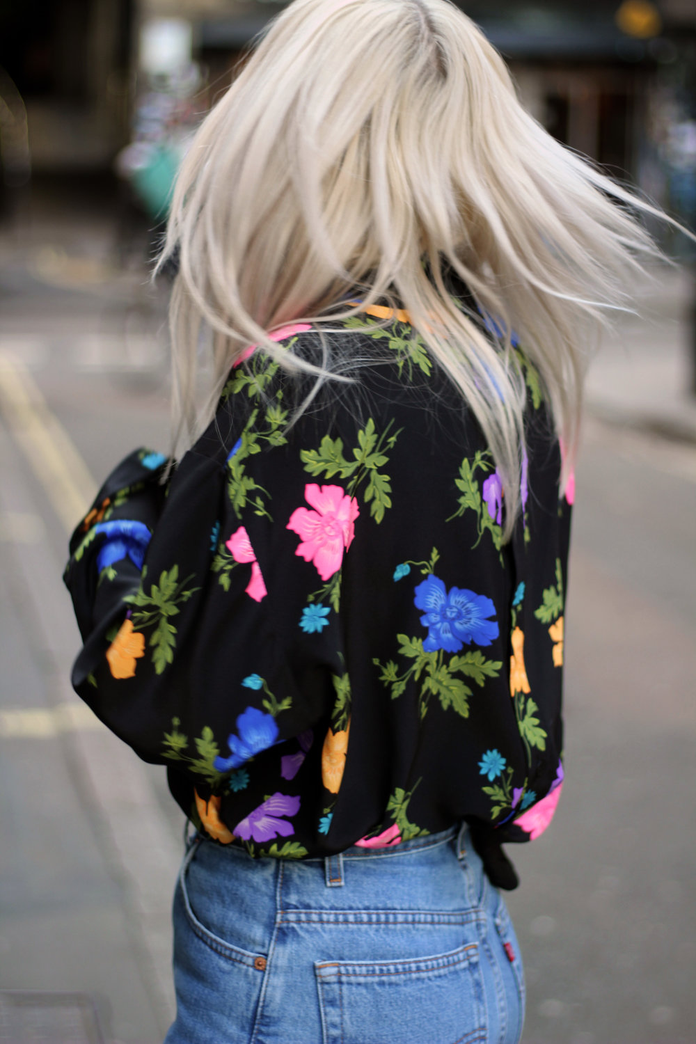 Topshop boutique silk blouse, blogging with a full time job, northern magpie, joey taylor 4
