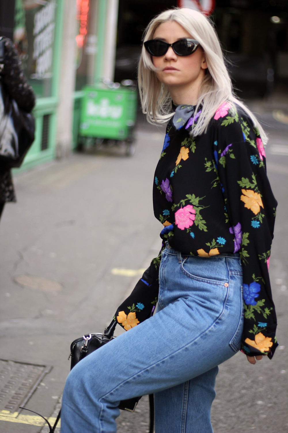 Topshop boutique silk blouse, blogging with a full time job, northern magpie, joey taylor 5