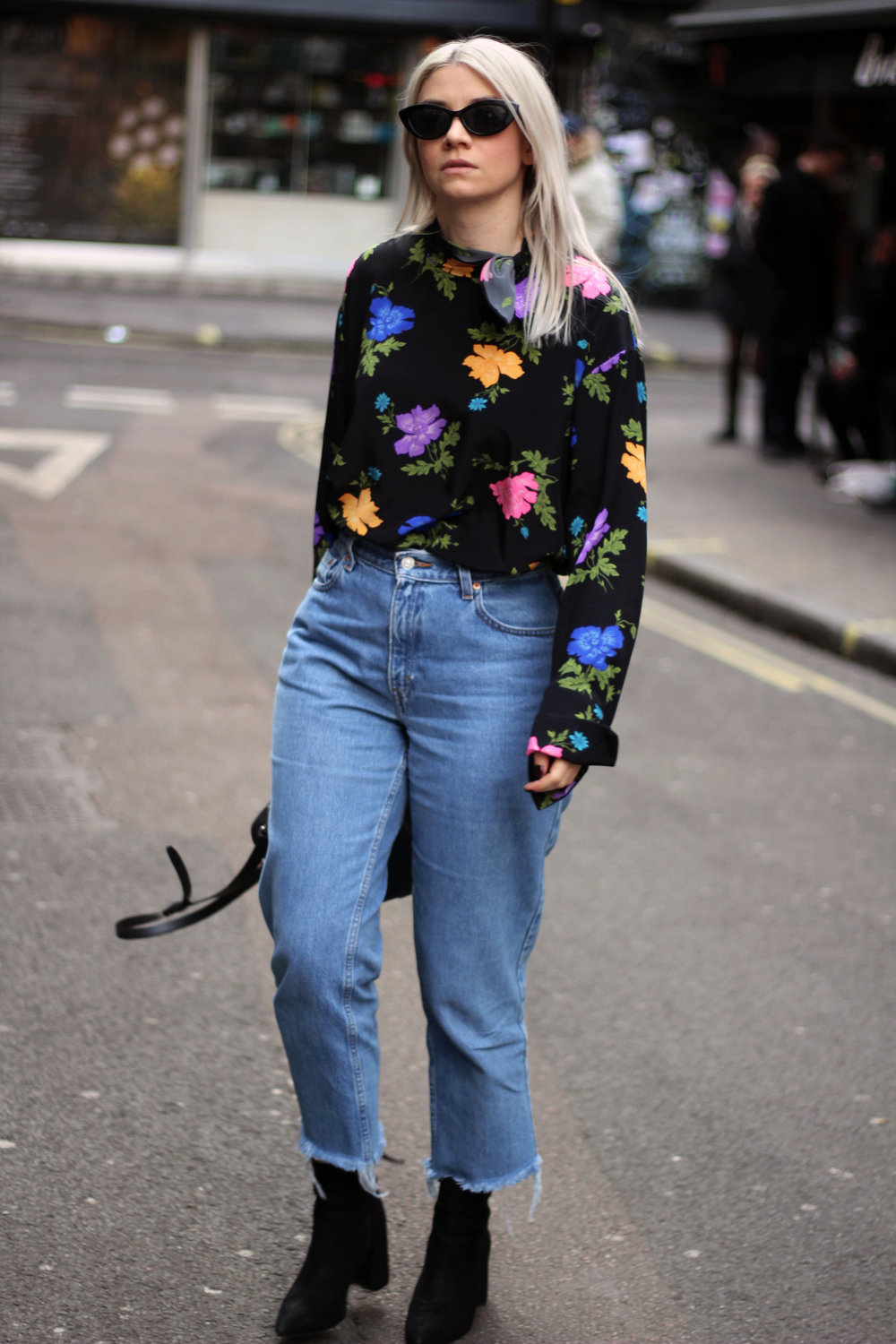 Topshop boutique silk blouse, blogging with a full time job, northern magpie, joey taylor 6