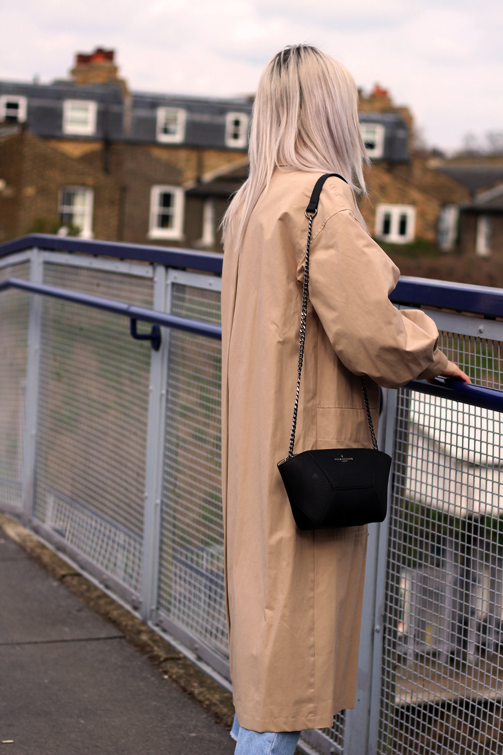 TRENCH COAT, PAULS BOUTIQUE BAG, GIVEAWAY, TOPSHOP JEANS 7