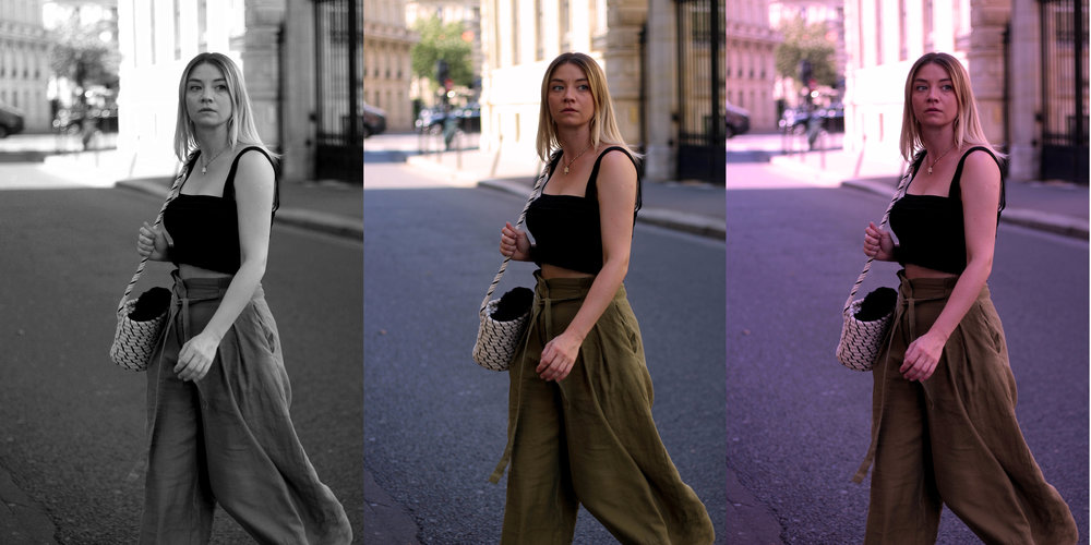 PARIS, CROP TOP, PAPERBAG TROUSERS, NORTHERN MAGPIE, JOEY TAYLOR 3