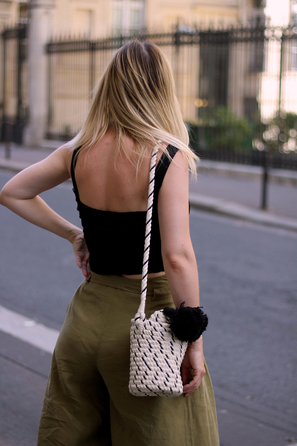 PARIS, CROP TOP, PAPERBAG TROUSERS, NORTHERN MAGPIE, JOEY TAYLOR 4
