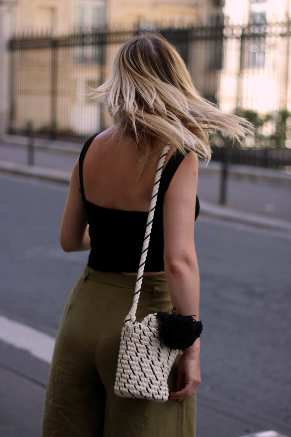 PARIS, CROP TOP, PAPERBAG TROUSERS, NORTHERN MAGPIE, JOEY TAYLOR 5