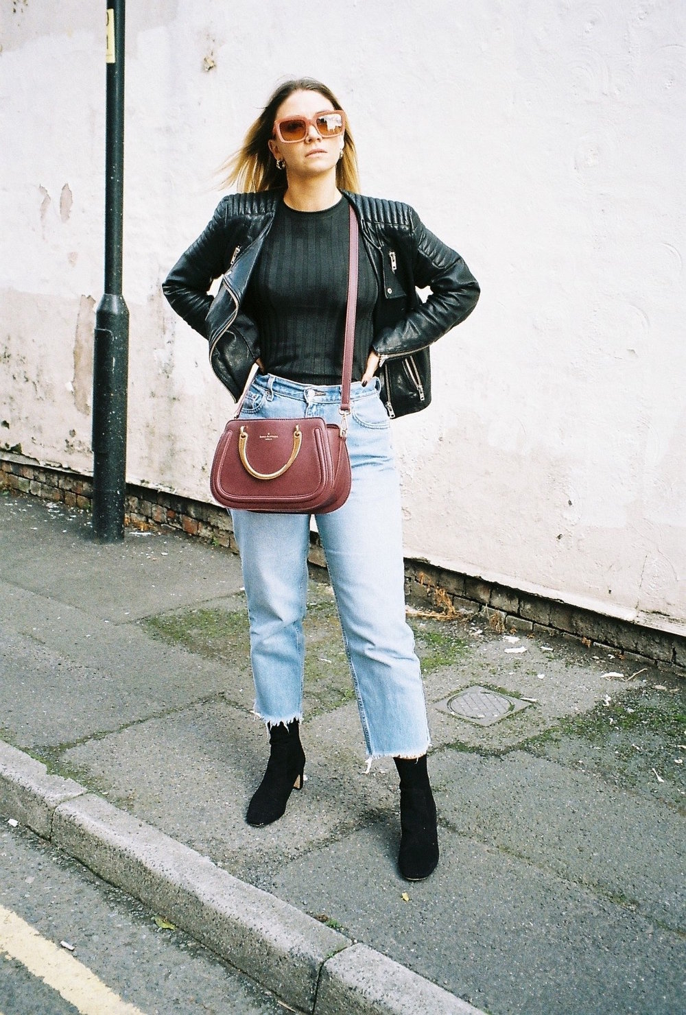 long sleeve topshop, northern magpie, joey taylor, vintage levi jeans 6