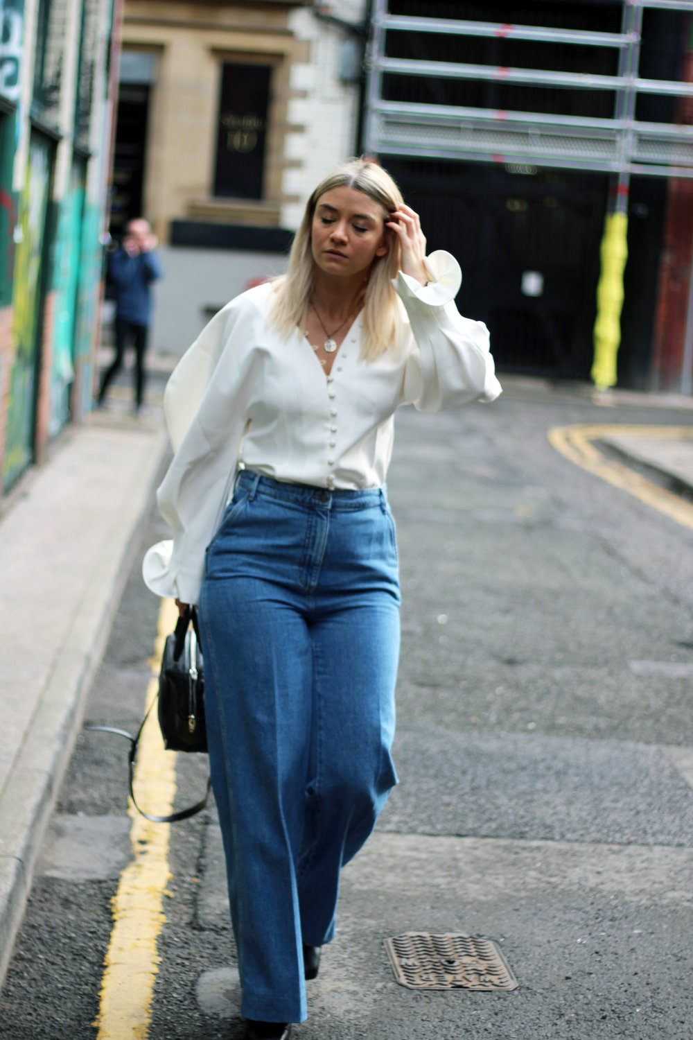 independent brands, instagram shopping, oh hey gilr, white blouse, joey taylor, northern magpie 3