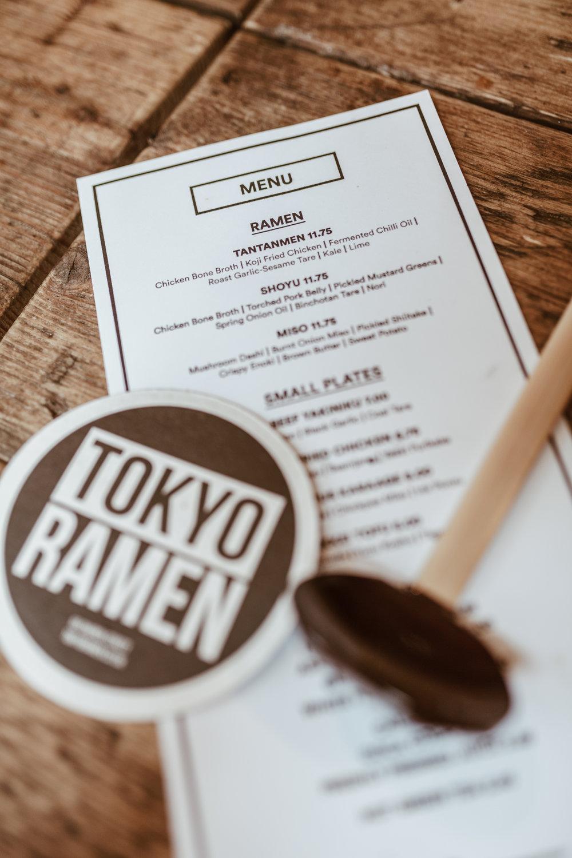 Tokyo Ramen review, Topshop slip skirt, cream knitwear, northern magpie, joey taylor 3
