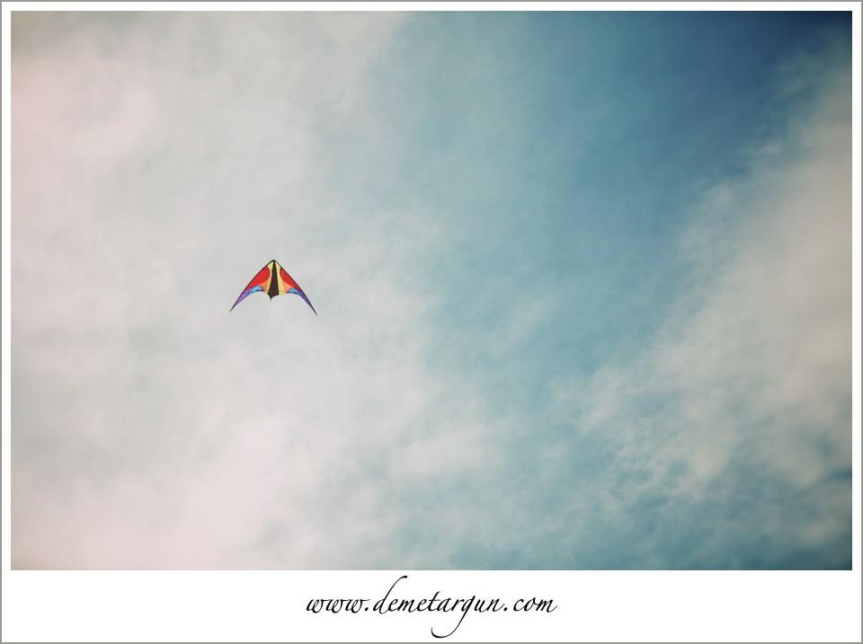 gökyüzü uşurtma özgürlük