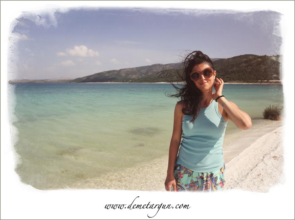 Fotoğraf için eşim Aykut Güngör'e teşekkürler. Salda Gölü'nden bir kare.