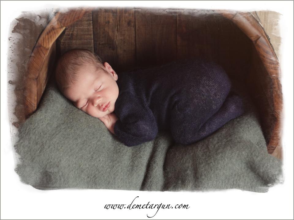 bursa yenidogan bebek fotografi lacivert tulum