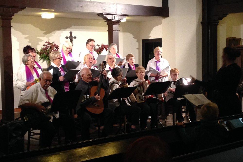 Chor der Baugenossenschaft Leipzig