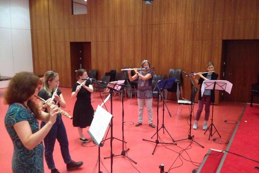 Querflöten-Ensemble - Neue Musik Leipzig