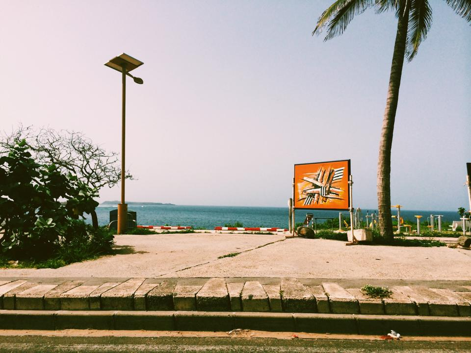 La corniche de Dakar