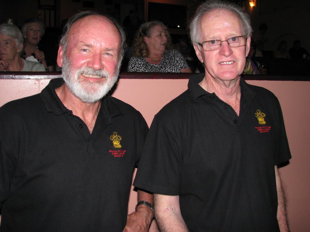 David Warner and Maurice Gaudry.JPG