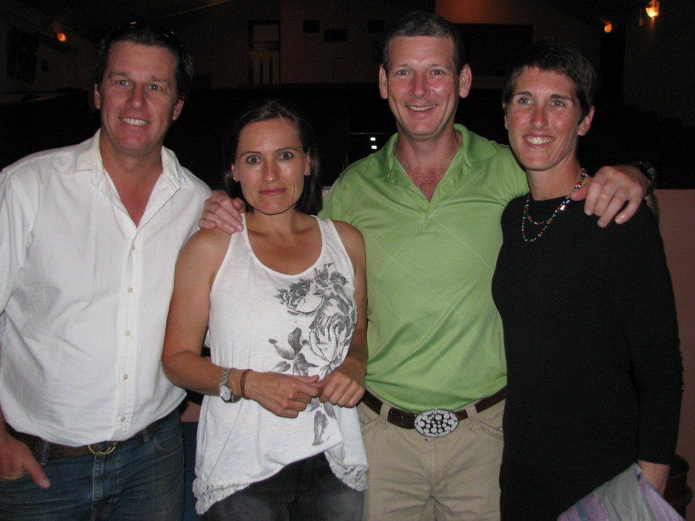 Principal Actor Kali Newcomb with husband Jeremy and friends Chris & Jordy.JPG
