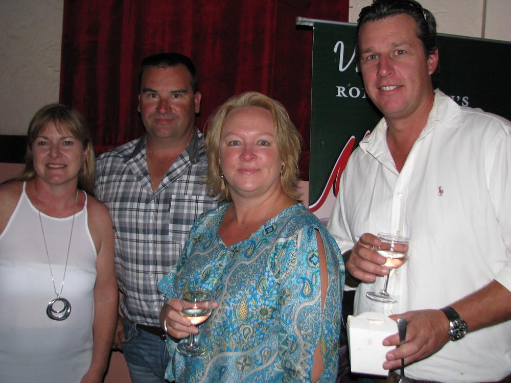 Sarah Domet and Daniel Lewis and Rowena Lewis and Jeremy Newcomb.JPG