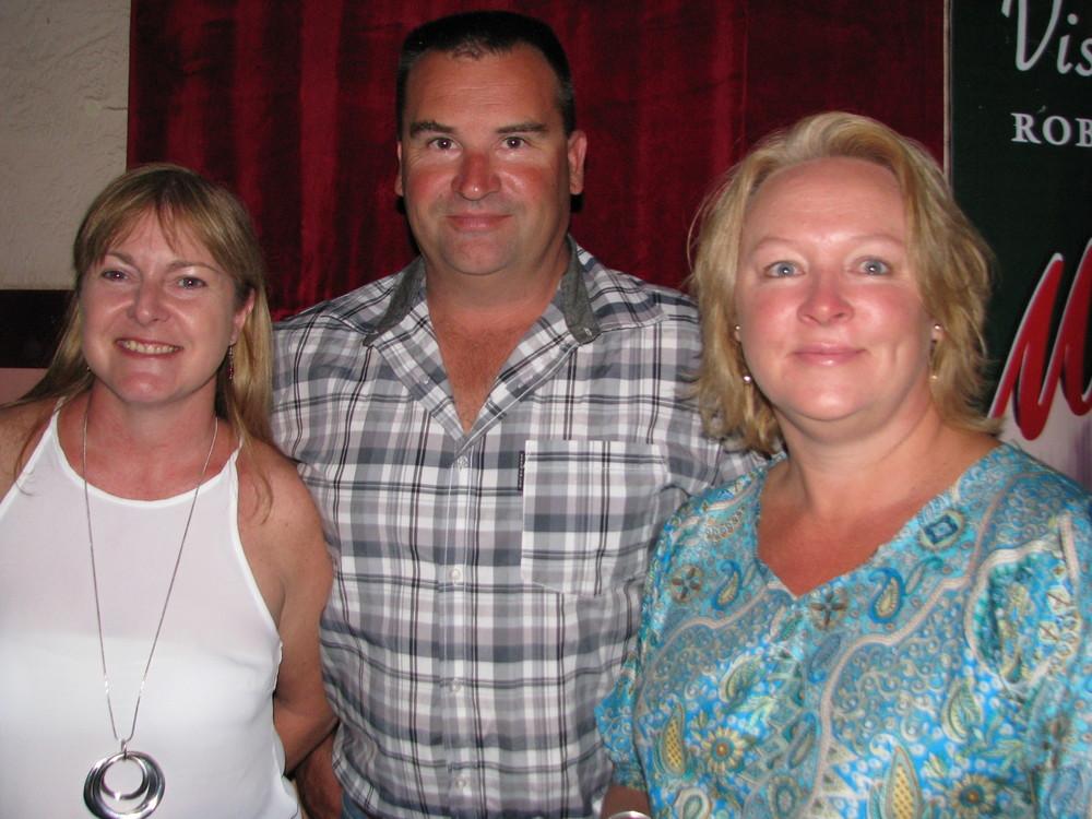 Sarah Domet with Daniel and Rowena Lewis.JPG