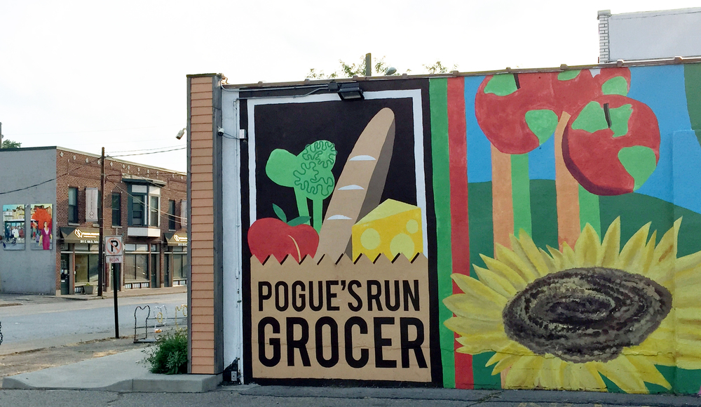 Pogue's Run Grocer, a co-op on the near Eastside, is a source of local produce, meats, dairy and pastured eggs directly from local farmers.