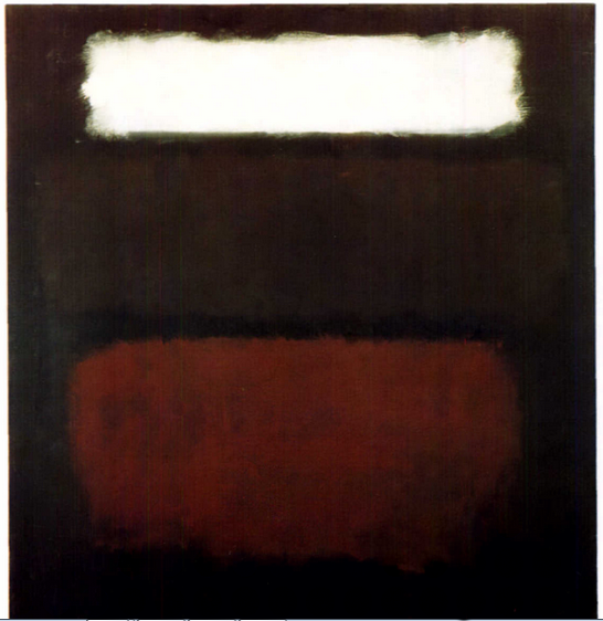 Mark Rothko, Untitled / No. 28, 1962 (source:  Daily Rothko)