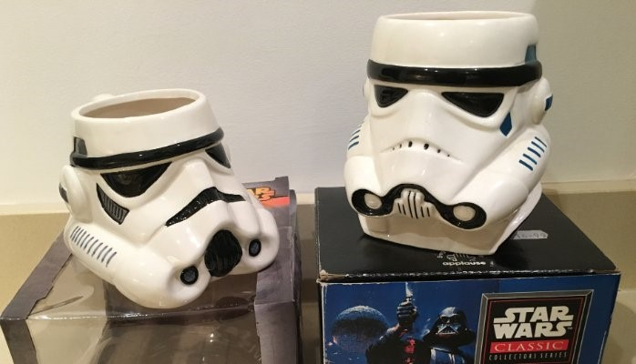 On the left an official character mug from BB designs sold in December 2015 On the right an official character mug from Applause Inc. sold in December 1995 I love them both for many reasons (not to drink out of) but I don't believe there are many brands that can literally sell exactly the same product over a 20 year period.  This is what truly defines an evergreen brand. Star Wars has just passed the $2bn figure at the global box office and has achieved this in less than half the time of Avatar.  As expected this has been the biggest news in licensing since Walt Disney first imagined transferring his Mortimer Mouse drawing onto a T shirt. It's no wonder why Jurassic Park has been rebooted, a different Spiderman defeats a different green goblin every three years and we are soon to see Jared Leto attempt the most difficult character handover in history.  All entertainment properties make their real money through the merchandise rather than cinema tickets and it's the licensing industry that makes this possible.  The opportunity to sell is unfortunately tied to release dates (cinema, DVD, etc) and therefore to hit tight deadlines a lot of the merchandise can end up in the low end 'brand slapping' category. Star Wars however, is different as there are a huge number of brand building higher end products available alongside the traditional merchandise.  How many other entertainment properties could honestly license a range of quality cooking knives!