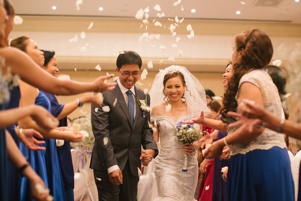 Noel & Lei Wedding - dubai radisson hotel