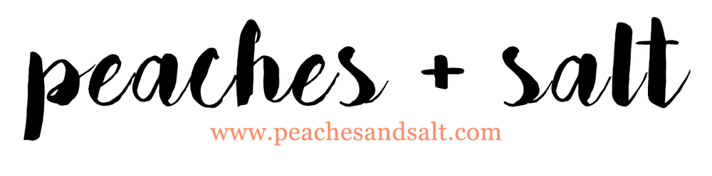 Peaches+Salt