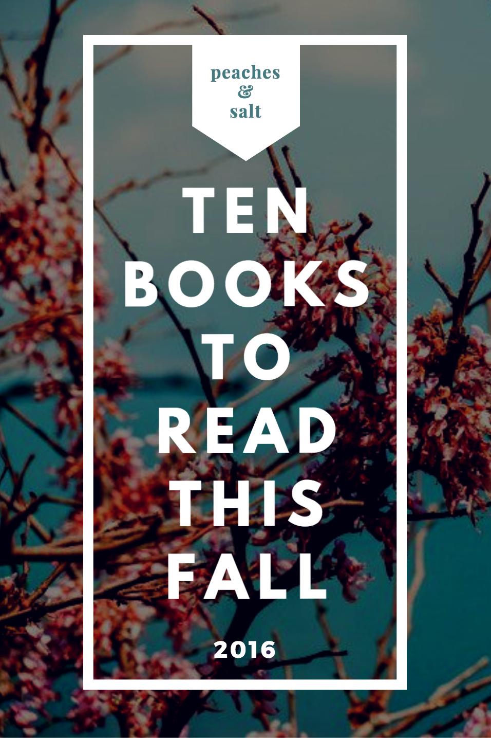 10 Books You Need To Read This Fall