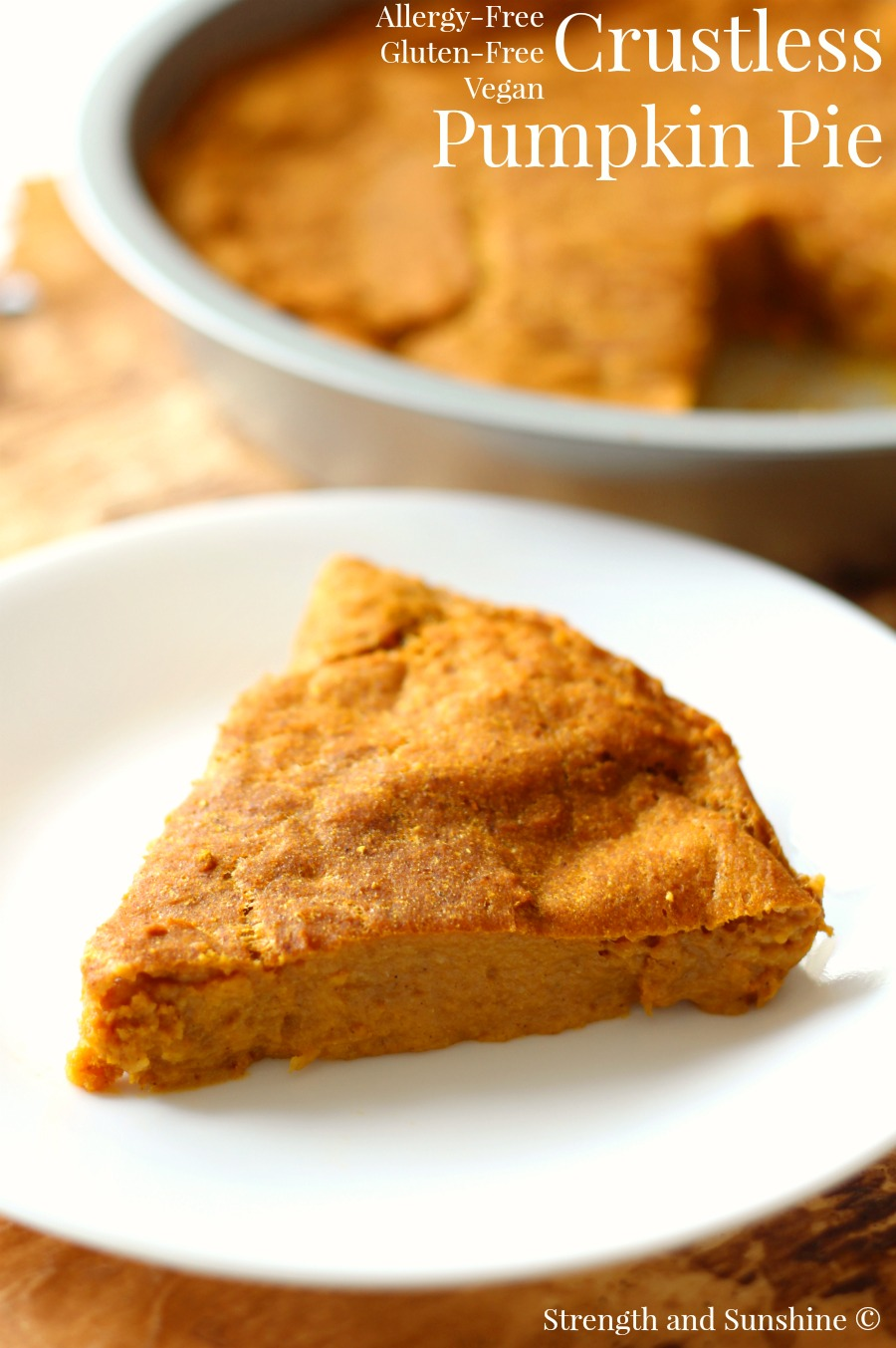 The Healthiest Pumpkin Pie
