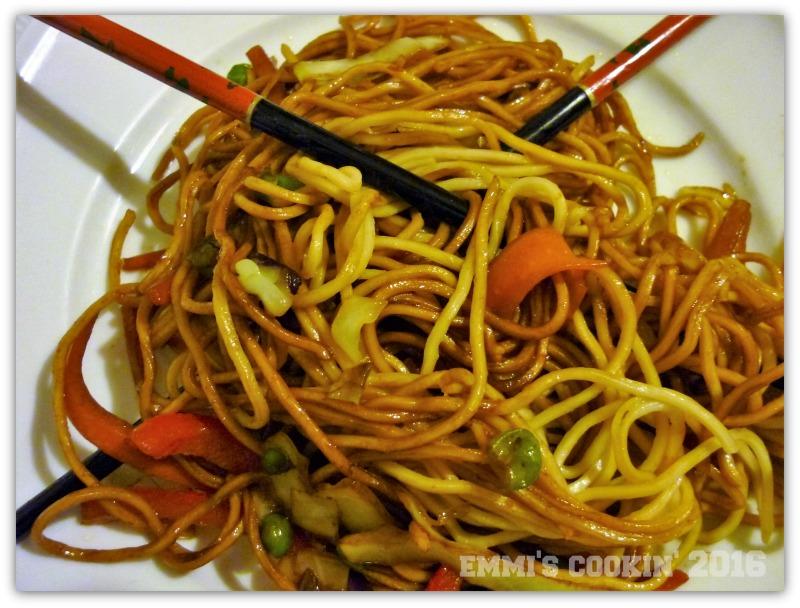 Mie Noodle Stir Fry