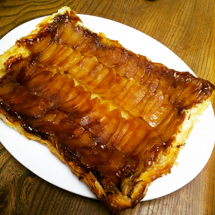 Easy Tart Tatin via Whole Food Home