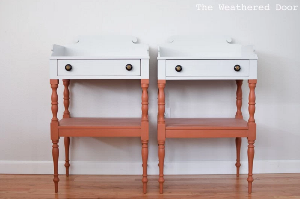 Color Block Nightstands