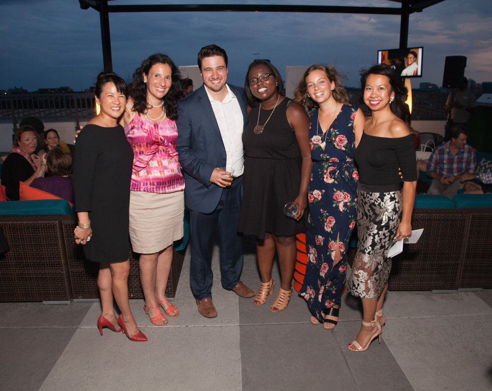 Fashion Impact DC. Rooftop at The Embassy Row Hotel. Photograph by E. Brady Robinson.