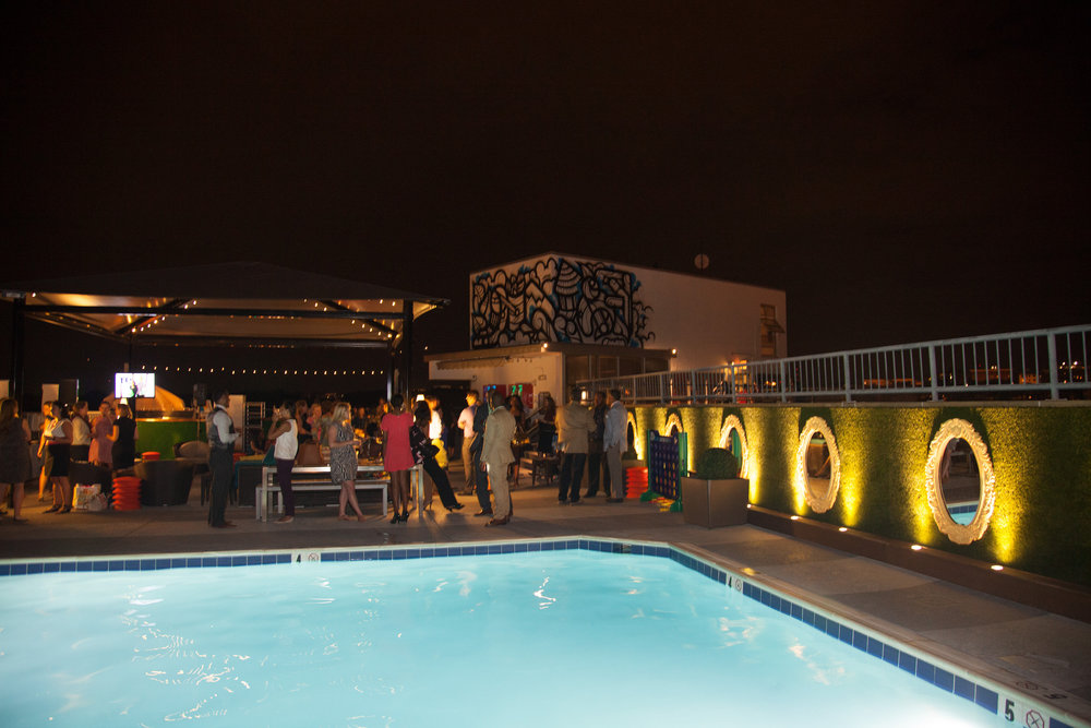 #FashionImpactDC. Rooftop at The Embassy Row Hotel. Photograph by E. Brady Robinson.