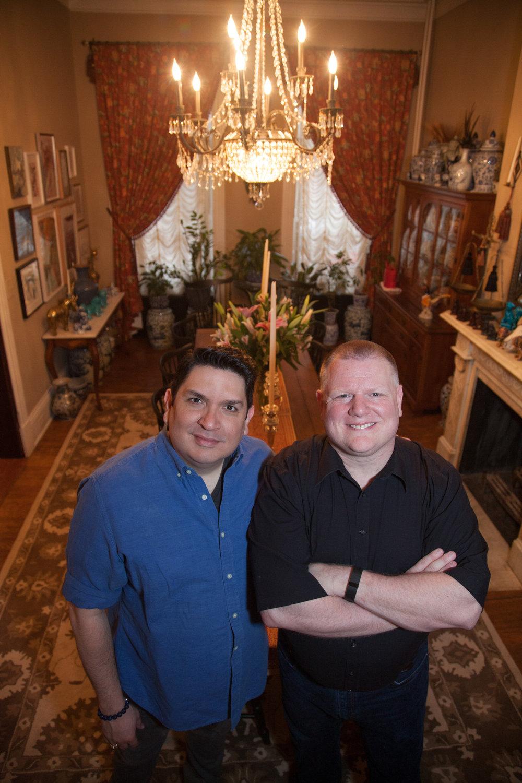 René Treviño and Paul Frey